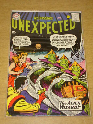 Tales Of The Unexpected #49 Fn- (5.5) Dc Comics May 1960 **