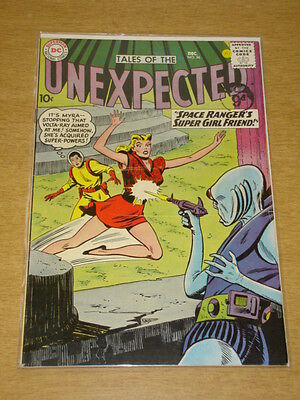 Tales Of The Unexpected #56 Fn (6.0) Dc Comics December 1960 **