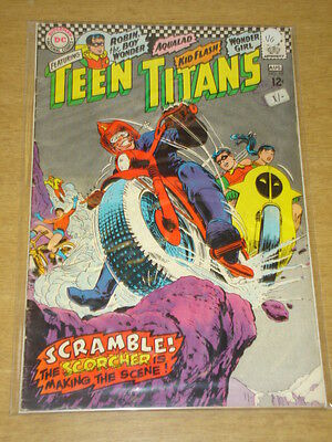 Teen Titans #10 Vg (4.0) Dc Comics August 1967 < **