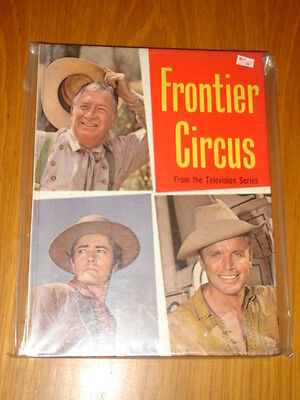 Frontier Circus Television Series Purnell British Annual 1962 Scarce Vf