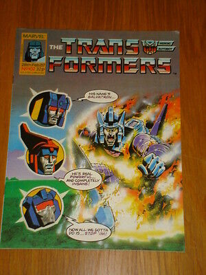 Transformers British Weekly #102 Marvel Uk Comic 1987