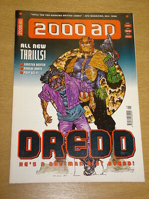 2000Ad #1125 British Weekly Comic Judge Dredd Dec 1998 *