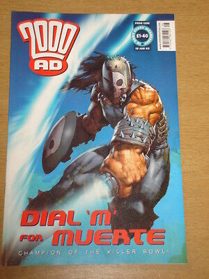 2000Ad #1296 British Weekly Comic Judge Dredd Jun 2002 *