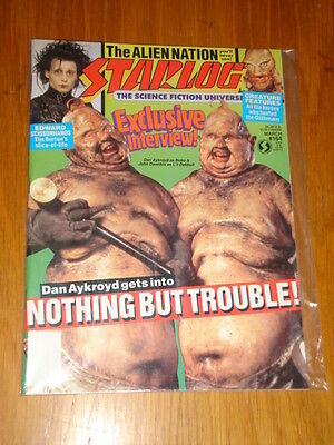 Starlog #164 Sci-Fi Magazine March 1991 Dan Aykroyd Nothing But Trouble