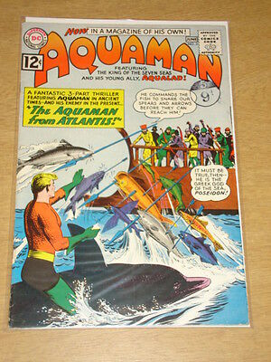 Aquaman #3 Fn- (5.5) Dc Brian Bolland Collection With Signed Cert