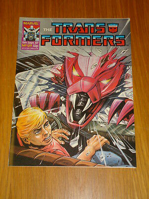 Transformers British Weekly #129 Marvel Uk Comic 1987