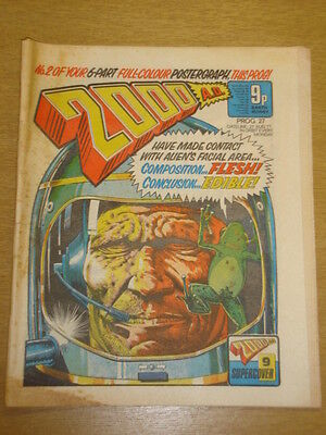 2000Ad #27 British Weekly Comic Judge Dredd Aug 1977 *