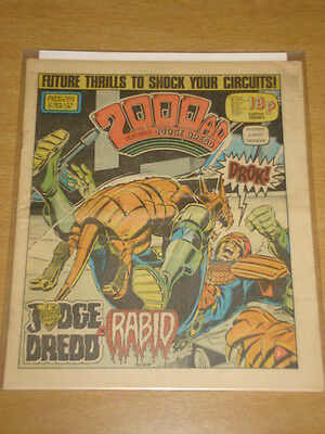 2000Ad #289 British Weekly Comic Judge Dredd Nov 1982 *