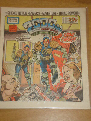2000Ad #338 British Weekly Comic Judge Dredd *