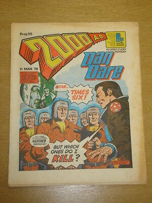 2000Ad #55 British Weekly Comic Judge Dredd *