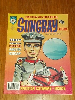Stingray #10 13Th February - 26Th February 1993 Wasp British Comic