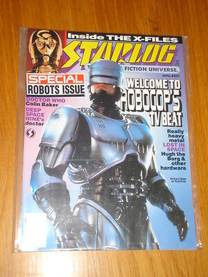 Starlog #201 Sci-Fi Magazine April 1994 Robocop Doctor Who Lost In Space