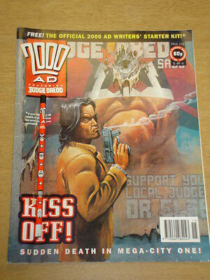 2000Ad #830 British Weekly Comic With Gift *
