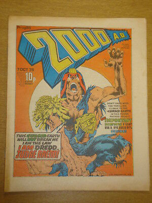 2000Ad #85 British Weekly Comic Judge Dredd *