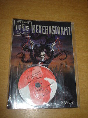 Reverbstorm 1 #8 Nm (9.4) Savoy David Britton Lord Horror Magazine With Cd