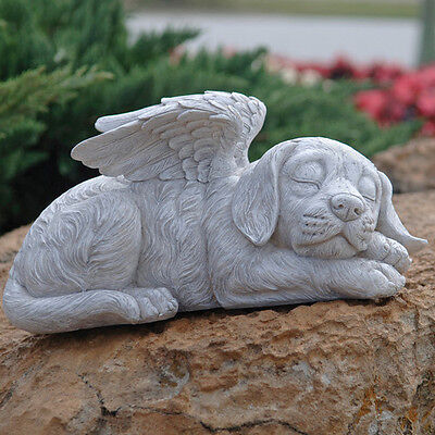 New Design Toscano Dog Memorial 'Dog Angel' Pet Statue Garden Ornament
