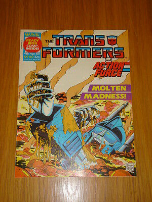 Transformers British Weekly #160 Marvel Uk Comic 1988