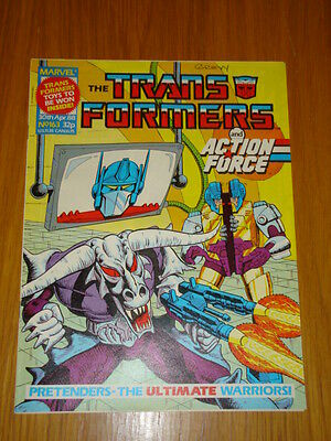 Transformers British Weekly #163 Marvel Uk Comic 1988