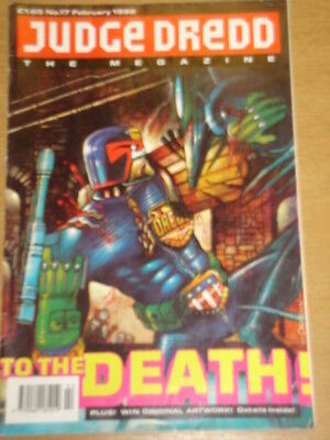 2000Ad Megazine #17 Vol 1 Judge Dredd*