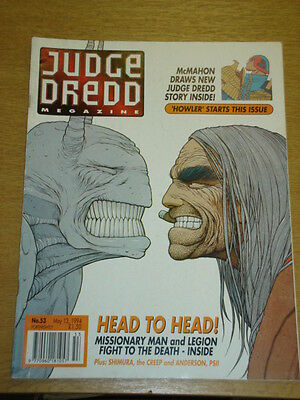 2000Ad Megazine #53 Vol 2 Judge Dredd*