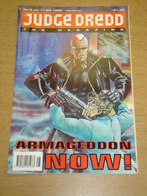 2000Ad Megazine #6 Vol 2 Judge Dredd*