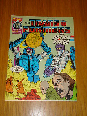 Transformers British Weekly #176 Marvel Uk Comic 1988