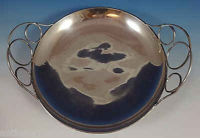 C. Zurita Mexican Mexico Sterling Silver Centerpiece Bowl Modernism (#0866)