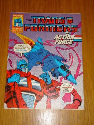 Transformers British Weekly #196 Marvel Uk Comic 1988
