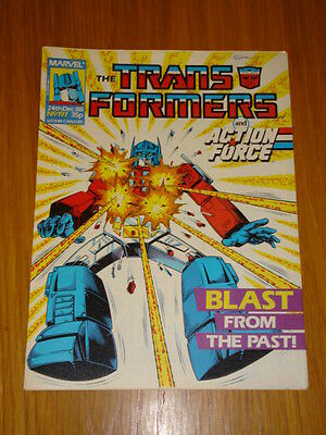 Transformers British Weekly #197 Marvel Uk Comic 1988