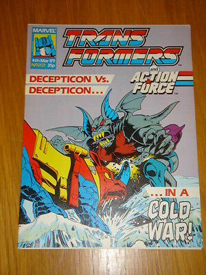 Transformers British Weekly #207 Marvel Uk Comic 1989
