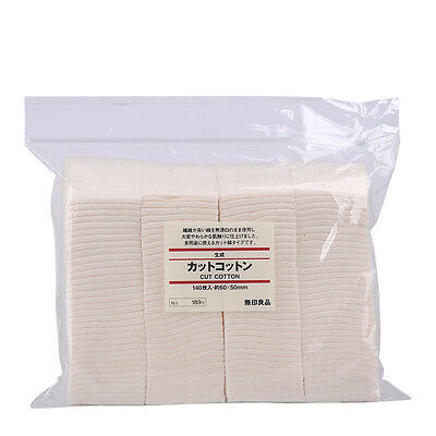 Genuine Muji Unbleached Untreated Japanese Organic Cotton Pads For Wicks