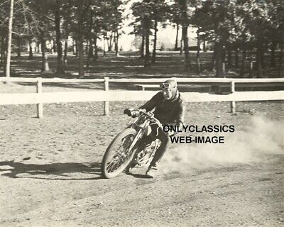 1930 Racer Harry Molenaar Harley Davidson Vintage Motorcycle Racing 8X10 Photo