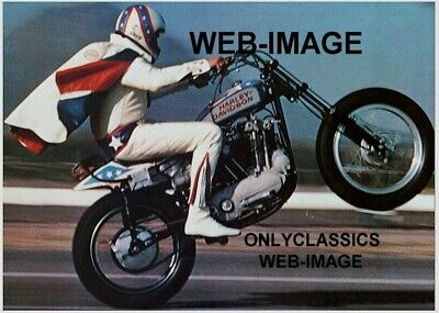 1973 Harley Davidson Xr-750 Motorcycle Cool Daredevil Showman Evel Knievel Photo