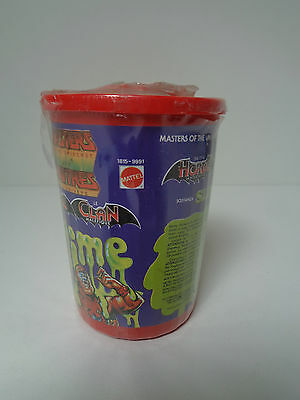 MOTU HE MAN COMPLETE SLIME PIT VAT CAN 2 SEALED masters of the universe L40