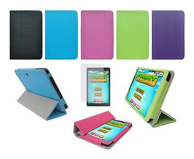 """Folio Skin Cover Case and Screen Protector for Hipstreet 8"""" W8 Tablet"""