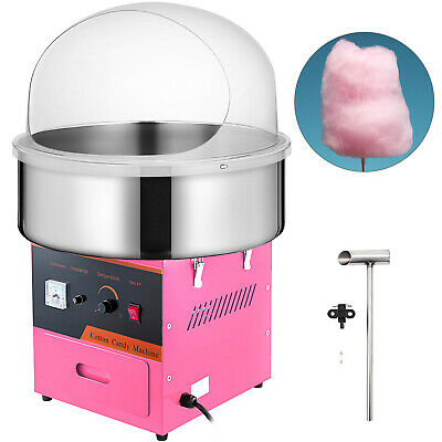 Electric Commercial Cotton Candy Machine Kit 1030w Floss Maker Store Booth New