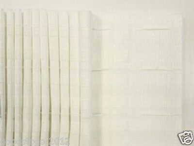 """NEW TOP QUALITY 6"""" Inch 150mm White Pencil Curtain Heading Header Tape UK SELLER"""