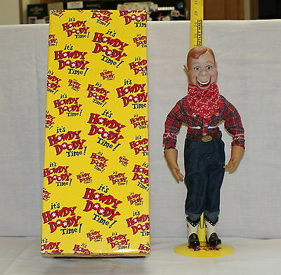 """1998 Howdy Doody 16"""" Doll 50th Anniversary Limited Edition Porcelain Fabricc"""