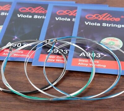 HIGH QUALITY SPOCK Viola strings Set ( 4/4 AND 3/4 Viola) NEW