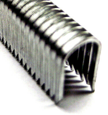 "From OZ Quality 1PC BOX 3/8"" CABLE STAPLES 1000pc Mild Steel U Shape CT-45 10mm"