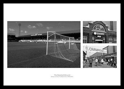 The Baseball Gound Derby County Historic Photo Montage (DCBG1)