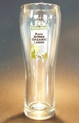 Superb Samuel Smith Pure Brewed Organic Lager pint glass £8.95 including P/&P