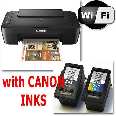 CANON Pixma MG2950 All in One WIRELESS PRINTER SCANNER COPIER + Inks