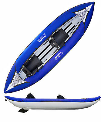 Aquaglide Chinook Two 10 ft Inflatable Kayak for 1-2 paddlers with BackPack