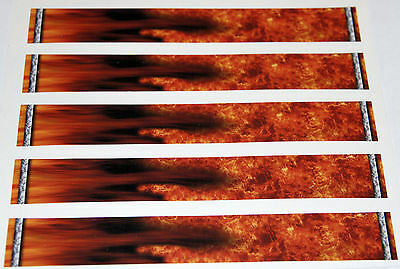 "0965 VINYL HD ARROW WRAPS FI-FIREARROW 1"" WIDE 7"" LONG (12 Pack)"