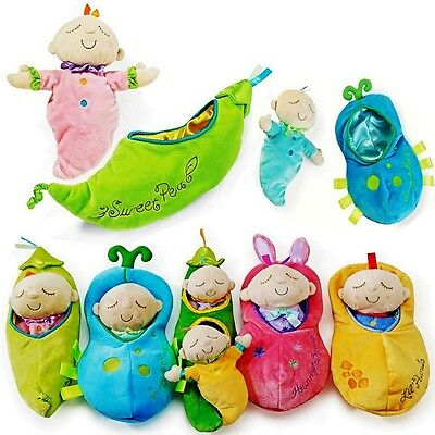 Baby Kid Child Manhattan Pea Peanut Honey Snuggle Plush Soft Stuffed Doll Toy 0+