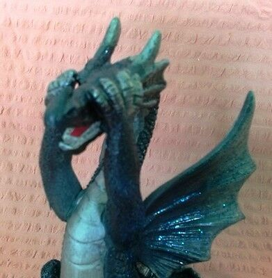"""See No Evil"" Dragon Statue Fantasy Mythical Gothic Magic Figure Home Ornament"