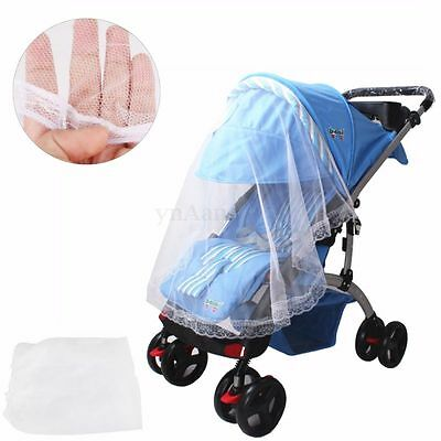 Baby Pram Pushchair Mosquito Net Fly Midge Insect Bug Cover Stroller Protector