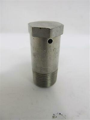 """Crouse Hinds, ECD385, 3/8"""" NPT, Stainless Steel, Explosion Proof Drain or Breath"""
