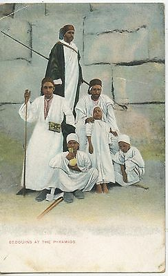 Carte Postale / Postcard Egypt / Egypte / Bedouins At The Pyramids
